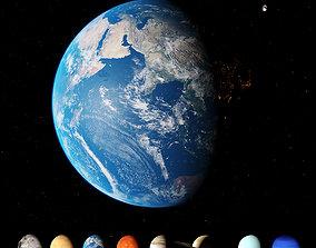 saturn Solar System 3D