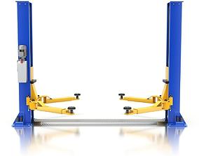 workshop Car Lift 3D model
