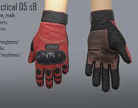 3D model FPS hand glove tactical 05 s8