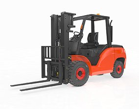 3D Animated Forklift