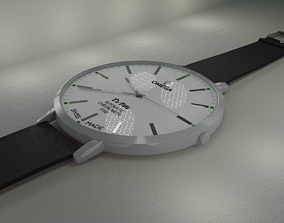 3D model Classic Watch Omega DeVille