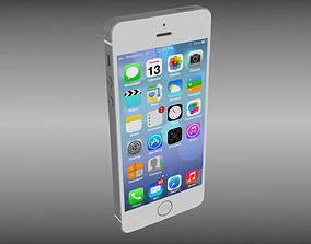 Iphone 5S White 3D