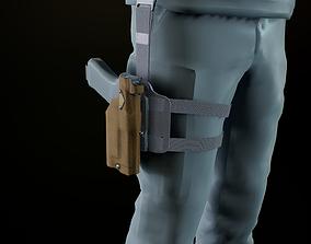 3D asset Safariland holster