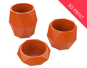 3D print model Vase for Plant 04 with 3 Different Sizes