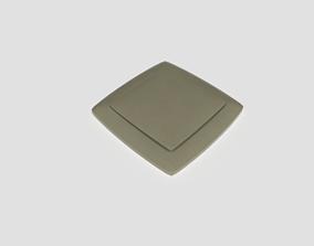 Light Switch Single 3D model