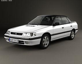 3D model Subaru Legacy 1989