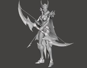 Marauder Ashe 3D Model
