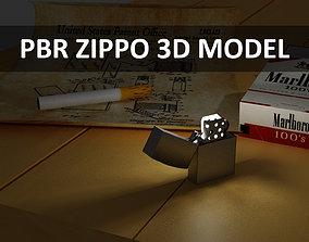 3D model PBR Zippo