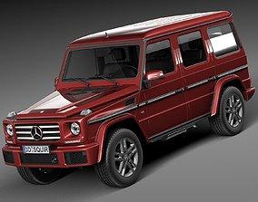 3D model Mercedes-Benz G-Class 2016