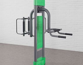 3D model Gym equipment 33 am169