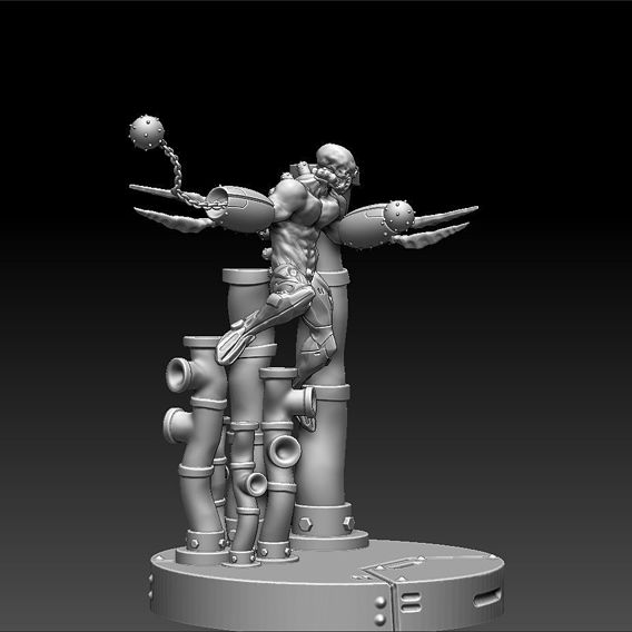 Berserker Cyborg Printable Figurine