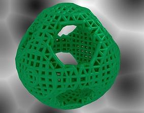 OrthoCircle Math Art 3D printable model