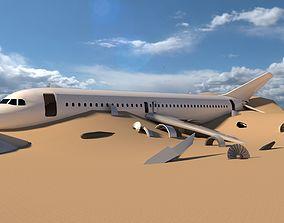 3D asset air-plane