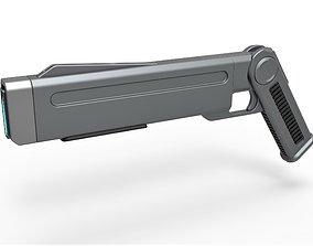3D model Stun gun from Star Trek Discovery TV series