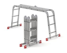 3D Multifunctional Aluminium Ladder