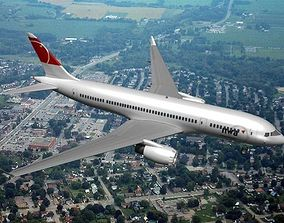 Boeing 787-8 Northwest Airlines 3D model