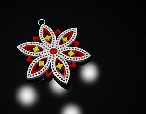 Christmas star 3D printable model