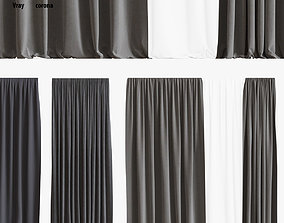 curtain set 01 3D model