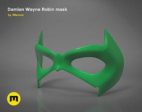 3D printable model Damian Wayne mask