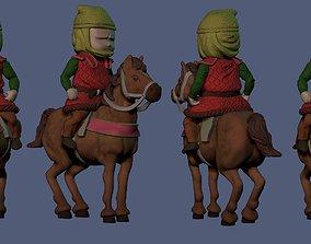 3D print model Horse miniature