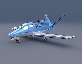Cirrus private jet 3D