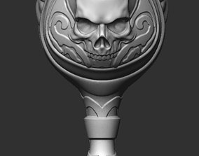 3D print model Bowl with skull