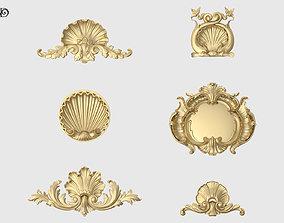 3D printable model Shell Onlay Collection