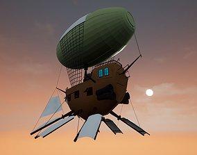 3D Steampunk Airship