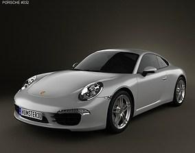 3D Porsche 911 Carrera Coupe 2012