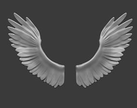 angel wigs - ali angelo 3D print model
