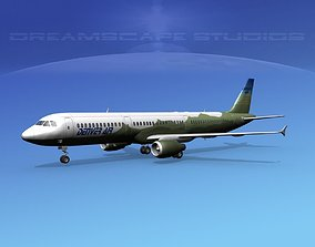 Airbus A321 Denver Air 3D