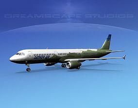 Airbus A321 Denver Air 3D
