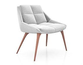 Columbus Lounge Chair by Modloft 3D