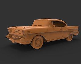 3D printable model Chevrolet Belair 1957