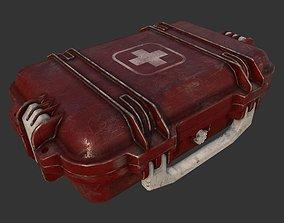 First Aid Medical Kit Case 3D asset