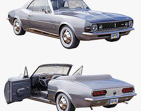 Chevrolet camaro 1967 convertible 3D