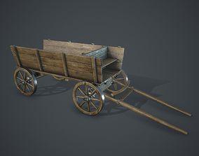 Wagon 3D model realtime