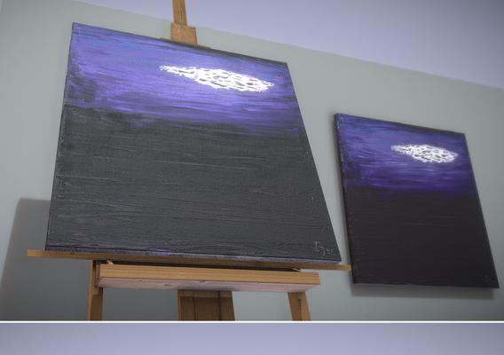 Cloud - Oil Painting