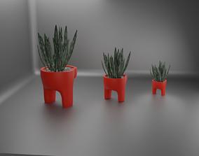 among us plant pot 40 3D printable model