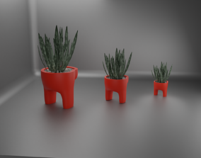 3D print model among us plant pot 40