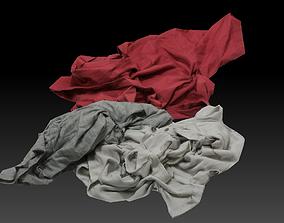 3D model Pile of Cloths 2