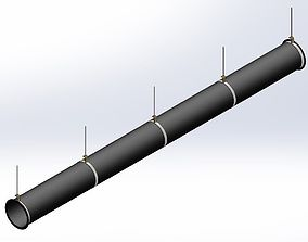 Duct system 3D model
