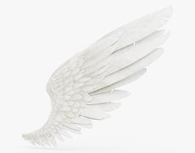 Angel wings 3D model low-poly