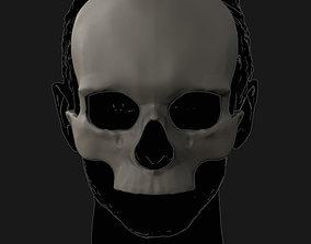 Skull mask 3D printable model
