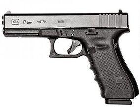 3D asset Glock model