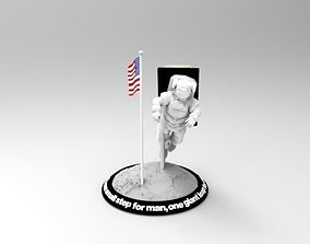 3D printable model Astronaut Smart Phone Stand Neil