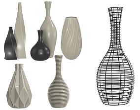 vases 3D model PBR