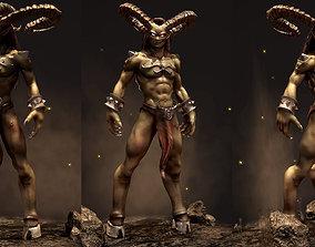 3D model Ifrit Demon