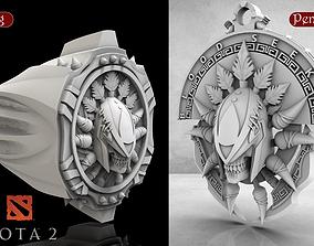 3D print model Ring And pendant Dota2 Blood Seeker