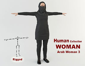 3D model Arab Woman 3